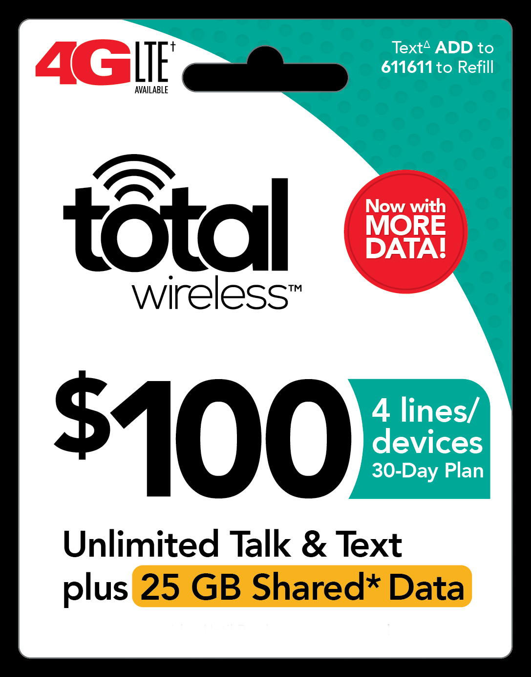 Total Wireless $100 Plan